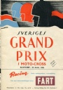 Motorcykelsport Sveriges Grand Prix i moto-cross 1952