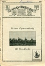 Årsböcker-Yearbooks Gymnastikbladet no. 8 1930