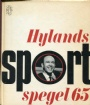 Årsböcker-Yearbooks Hylands Sportspegel 1965