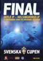 Fotboll Program Final Svenska Cupen Gefle IF-Helsningborgs IF 2006