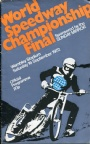 Motorcykelsport World speedway championship Final 1972